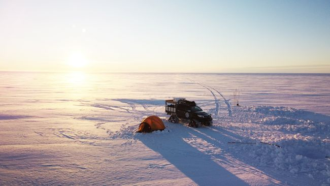 Toyota Hilux to the Coast of Antarctica - © International Polar Foundation