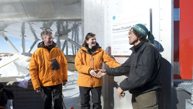 Inauguration of the Princess Elisabeth Station in Antarctica - © International Polar Foundation