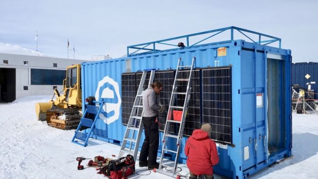 Building Solar Power Units for Scientists