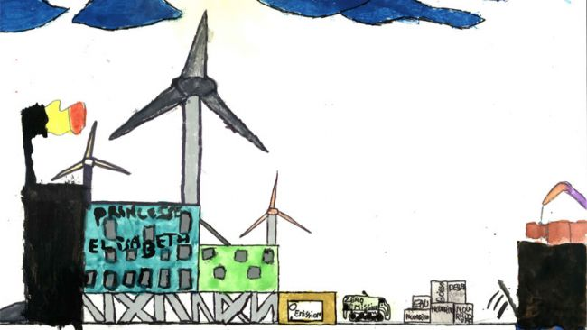 Draw your own zero emission station contest: winners