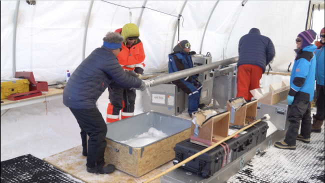 Video of MASS2ANT Field Work in Antarctica