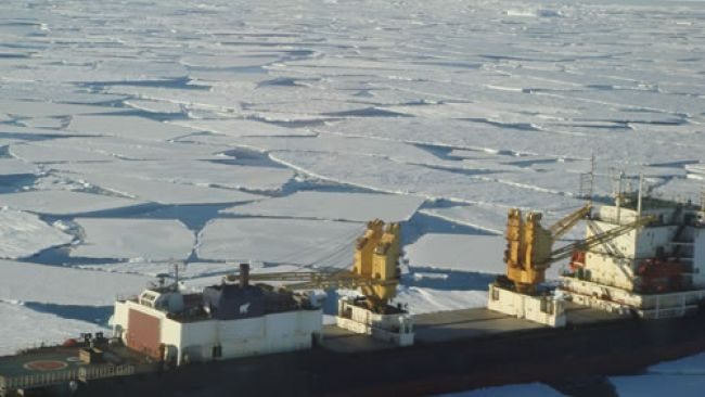 Ivan Papanin will Reach Breid Bay today - © International Polar Foundation