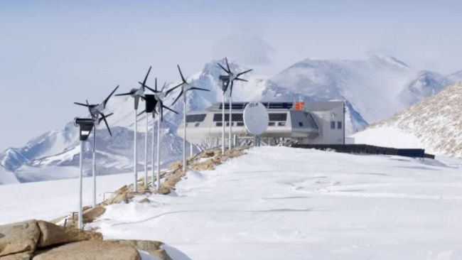 The Princess Elisabeth Station - © International Polar Foundation - René Robert