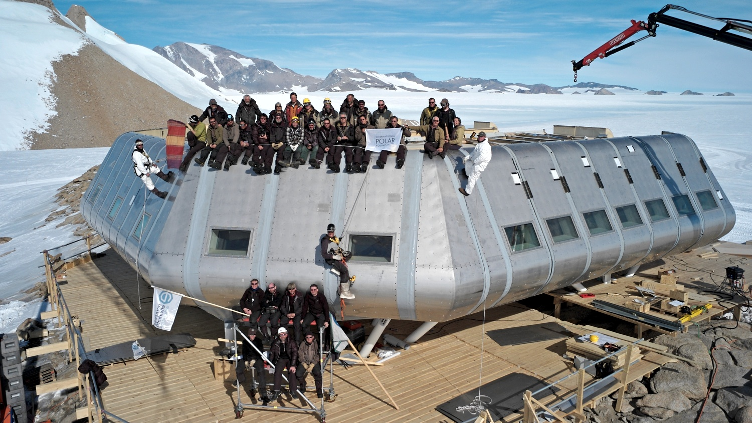 News from Antarctica