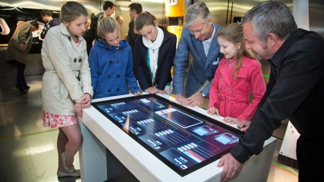 Princess Elisabeth and Prince Philippe Visit Antarctic Station Exhibition - International Polar Foundation/Dieter Telemans