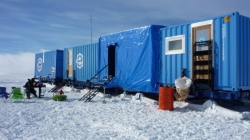 The Camp at Derwael Ice Rise - International Polar Foundation/Alain Hubert
