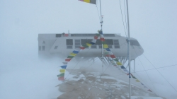 Snowstorm at Princess Elisabeth Antarctica, back in December 2011 - International Polar Foundation