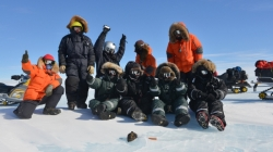Discovering the 18kg Antarctic Meteorite